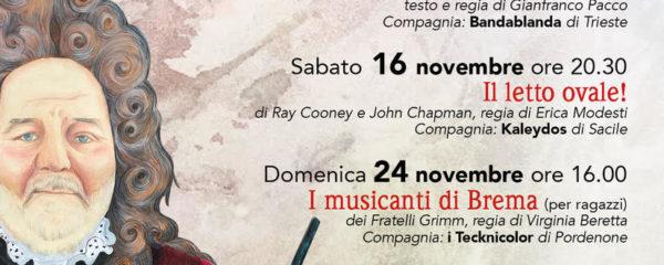 Rassegna Teatro D'autunno 2019 Chions